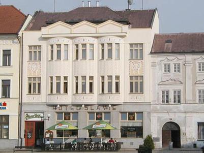 Hotel Slávie Pelhřimov