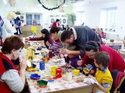 Penzion Keramika, výtvarné dílny