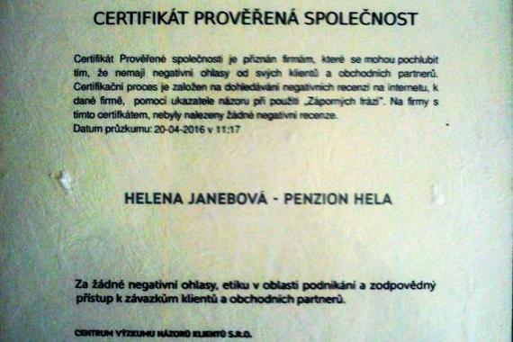 Penzion Hela Rakovnik foto 5
