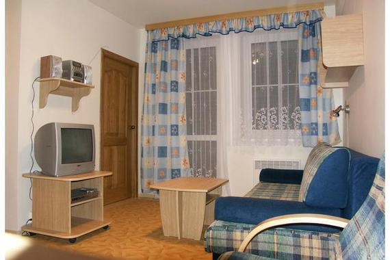 Ubytování - Obývací pokoj
