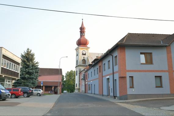 Pohled z centra města