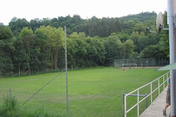 Součástí areálu Sportclubu je i fotbalové hřiště