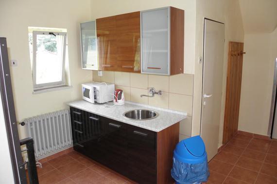 apartmány - kuchyňský kout