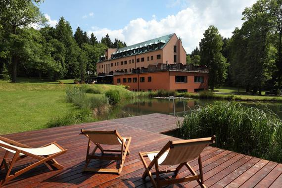 Hotel sv. Kateřina s pokoji: Cabernet, Merlot, Sauvignon, DLX Pinot a DLX Jun. Suite Carmennere.