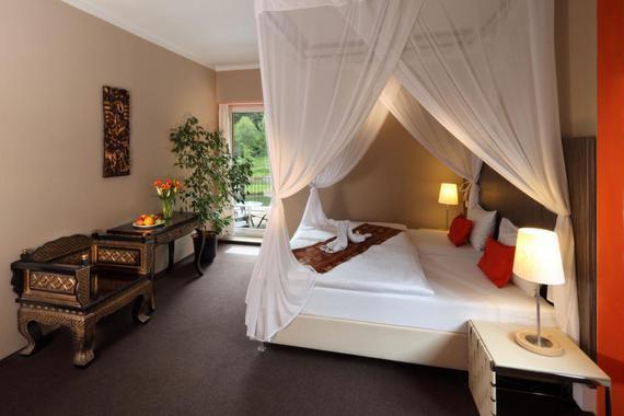 Pokoj DLX Pinot v hotelu sv. Kateřina.