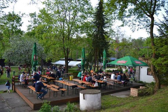 Autokemp a chatová osada Podskalí - vodácké tábořiště foto 2