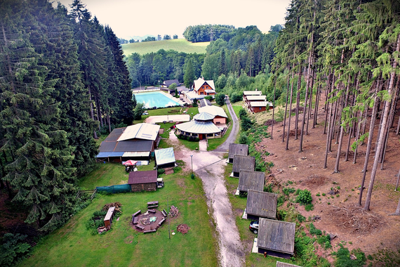 Lesní plovárna foto 2