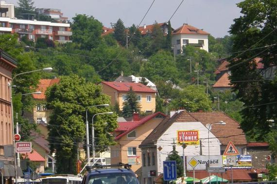 Pohled z centra