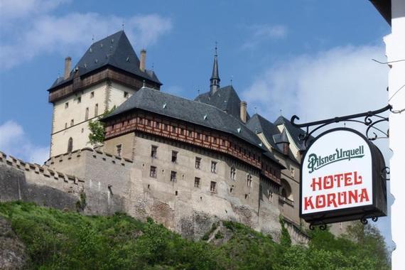 Hotel Koruna Karlštejn foto 2
