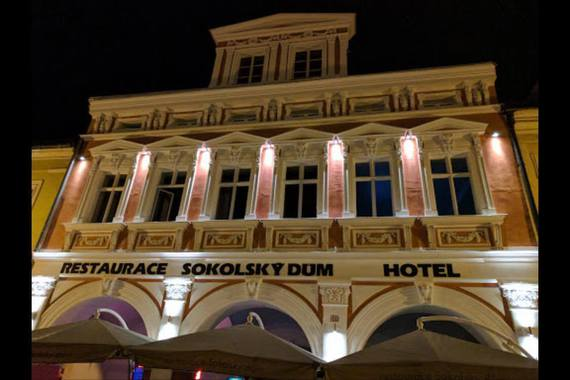 Hotel a restaurace Sokolský dům foto 3