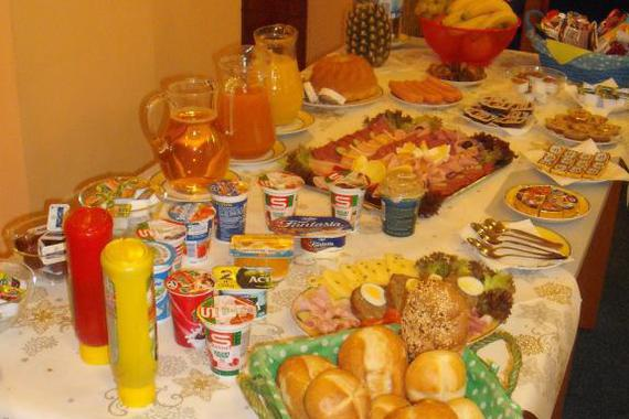 Restaurace - snídaně hotelu FORMAN