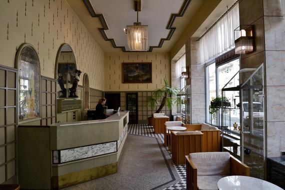 hotel Praha recepce