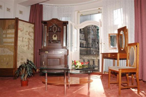Hotel Praha - secesní apartmán