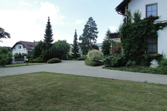 Villa Žerotín Penzion Bed & Breakfast Velké Losiny foto 4
