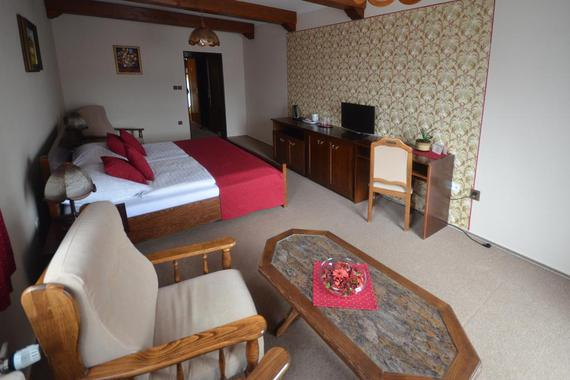 Villa Žerotín Penzion Bed & Breakfast Velké Losiny foto 16
