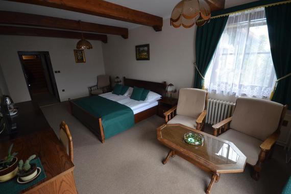 Villa Žerotín Penzion Bed & Breakfast Velké Losiny foto 17