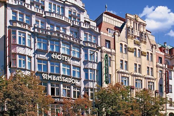 Hotel Ambassador - Zlatá Husa foto 1