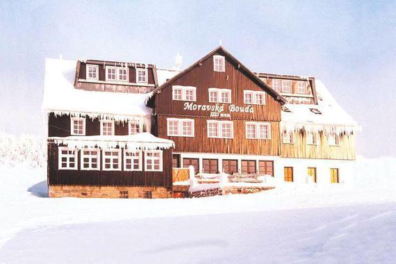Moravská bouda v zimě