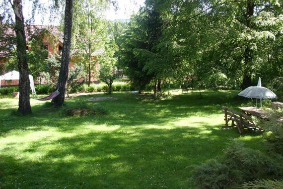 Zahrada kolem Vily Heleny