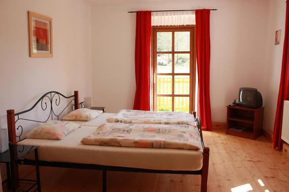 ložnice apartmánu č.6