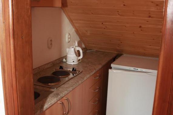 kuchyňka apartmánu č.5