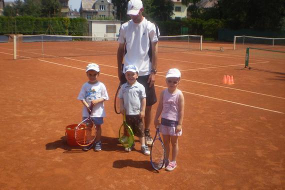 tenisová přípravka (4 roky) s trenérem