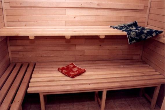 sauna s odpočívarnou