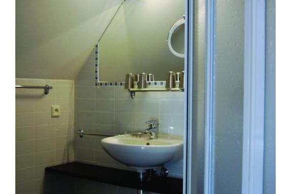 V každém pokoji je koupelna s wc.