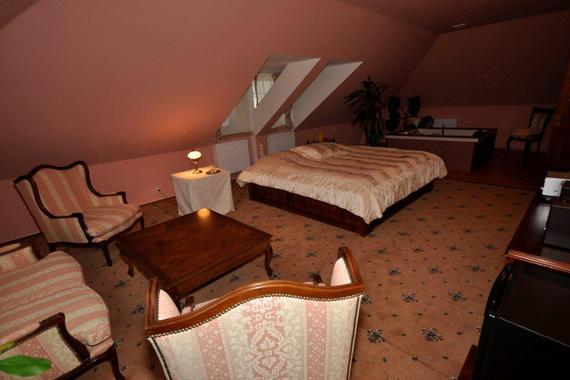 apartmá s výřivou vanou