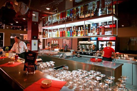 Restaurace - bar