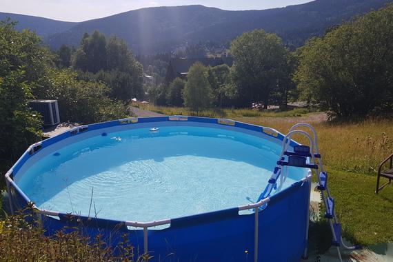 letní bazének