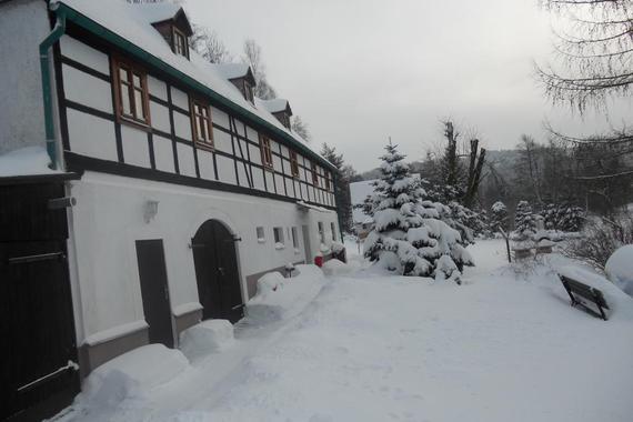 roubenka v zimě