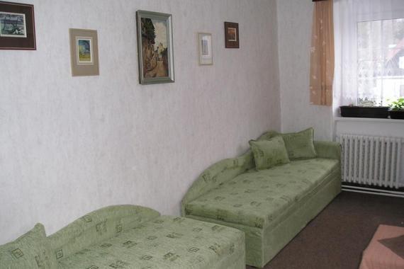 penzion dvoulůžkový pokoj