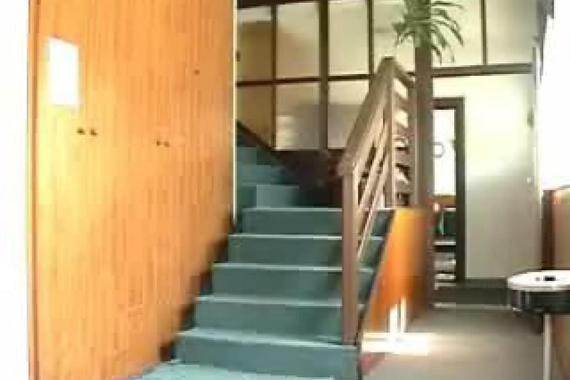 vstupní hala v ubytovací části penzionu