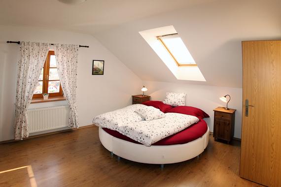Romantický pokoj - podkroví