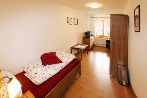 Jednolůžkový pokoj - 1.patro