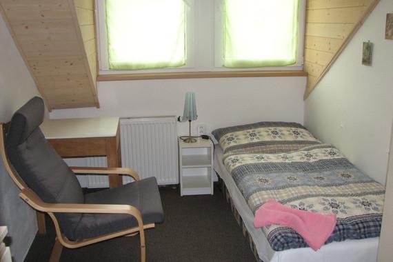 pokoj č. 5- jednolůžkový