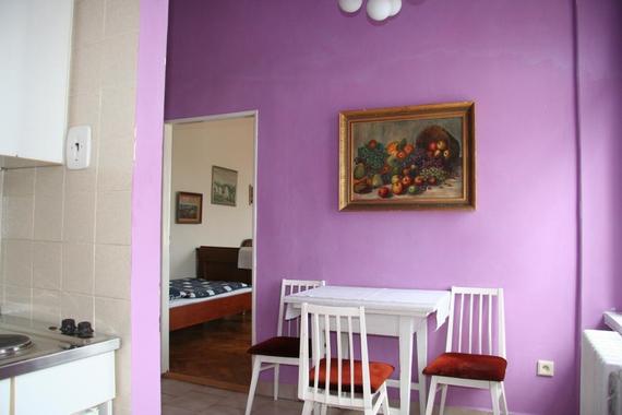 č.4... apartmán v prvním patře - ložnice, pokoj, balkon, kuchyně, koupelna s wc
