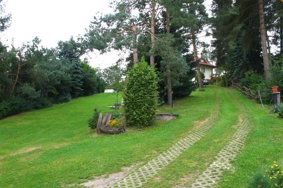 cesta od vilky Lustig k ville Blanka