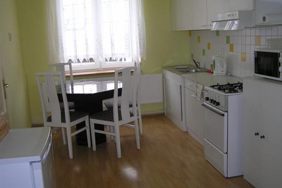 Apartmán č.1 - kuchyně, 2x ložnice, soc. zařízení pro 5 oso