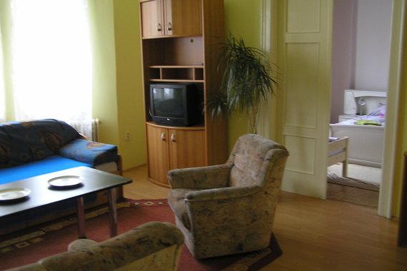 Apartmán č. 1 pro 5 osob - 2x ložníce, kuchyň, soc. zařízen