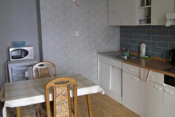 Apartmán č. 2 - 3 osoby - kuchyně, pokoj, soc. zařízení