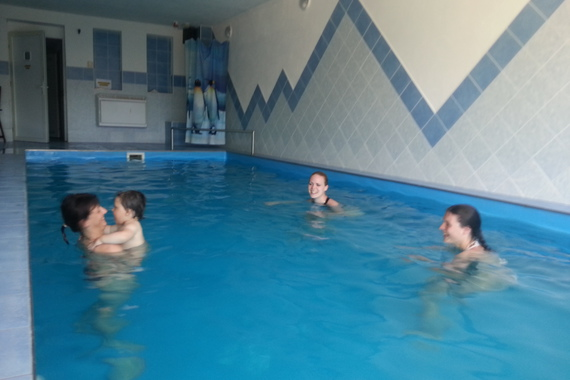 Levné ubytování s bazénem foto 7