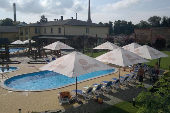 Hotelový bazén Dvůr Králové nad Labem