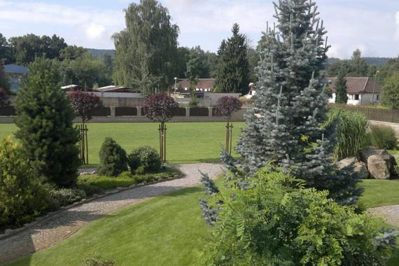 Hotelová zahrada hotel Dvůr Králové