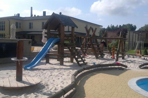 Dětské hřiště PENZION ZA VODOU