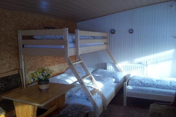 ložnice v chatě