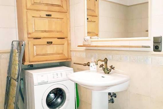 Vybavení koupelny v apartmánu