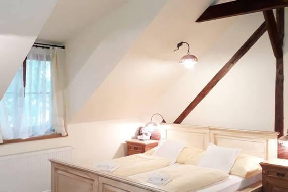 dvoulůžkový pokoj v podkroví