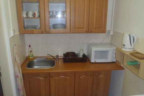 Kuchyňka - ubytovna